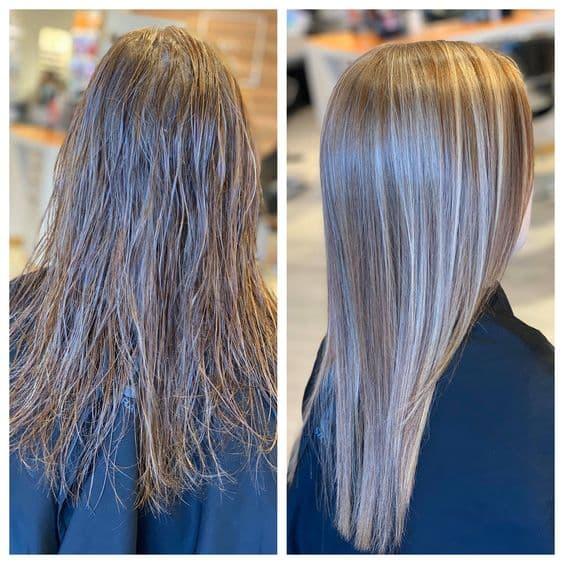 کراتینه مو با پودر ژلاتین